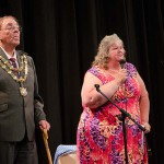 Mayor Dave Loveridge & Jackie Sealey