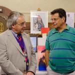 Town Councillors Steve Austen and Ian Tucker