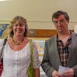 Westover District Councillors Kath Pearce & Brian Smedley