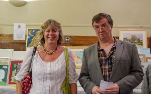 Westover District Councillors Kath Pearce & Brian Smedley