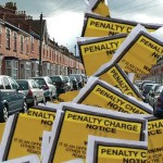 parking ticket street
