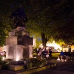 Bridgwater War Memorial 11pm 4th August 2014